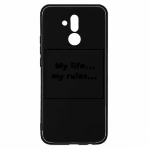 Huawei Mate 20Lite Case My life... my rules...