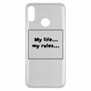 Huawei Y9 2019 Case My life... my rules...