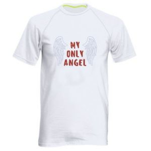 Men's sports t-shirt My only angel