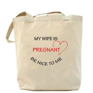 Bag My wife is pregnant