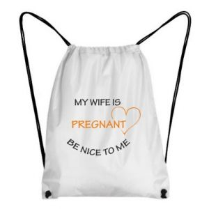 Backpack-bag My wife is pregnant