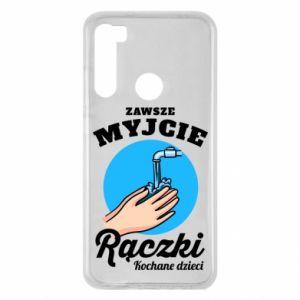 Xiaomi Redmi Note 8 Case Wash their hands