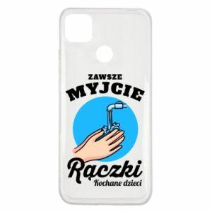 Xiaomi Redmi 9c Case Wash their hands