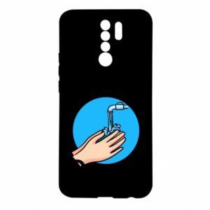 Xiaomi Redmi 9 Case Wash their hands