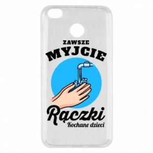 Xiaomi Redmi 4X Case Wash their hands