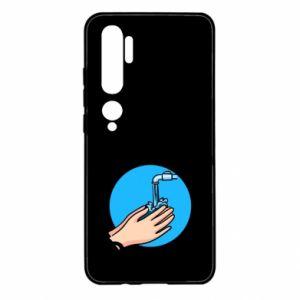 Xiaomi Mi Note 10 Case Wash their hands