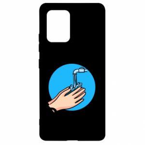 Samsung S10 Lite Case Wash their hands