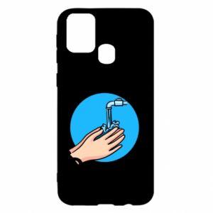Samsung M31 Case Wash their hands