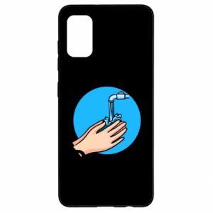 Samsung A41 Case Wash their hands