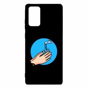 Etui na Samsung Note 20 Myjcie rączki