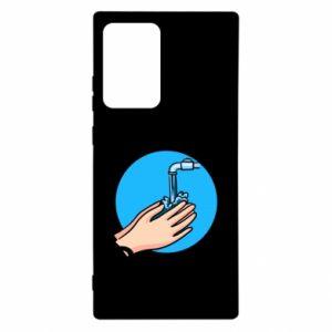 Etui na Samsung Note 20 Ultra Myjcie rączki
