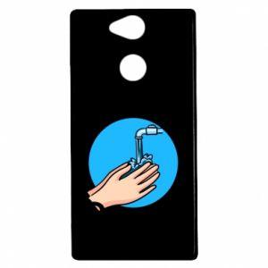 Etui na Sony Xperia XA2 Myjcie rączki