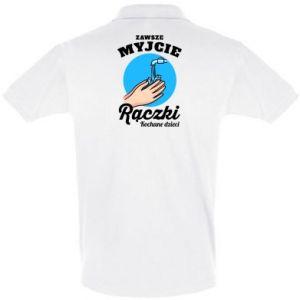 Koszulka Polo Myjcie rączki