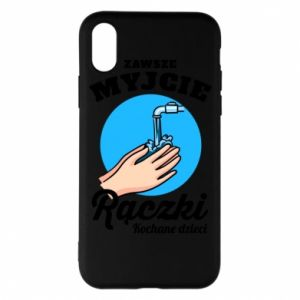 iPhone X/Xs Case Wash their hands