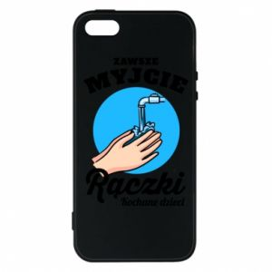 iPhone 5/5S/SE Case Wash their hands