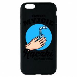Etui na iPhone 6/6S Myjcie rączki