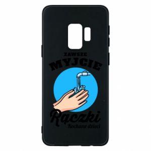 Samsung S9 Case Wash their hands