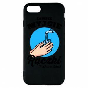 Etui na iPhone 8 Myjcie rączki