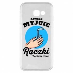 Samsung A5 2017 Case Wash their hands