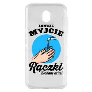 Samsung J5 2017 Case Wash their hands