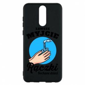 Huawei Mate 10 Lite Case Wash their hands