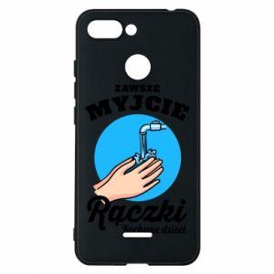 Xiaomi Redmi 6 Case Wash their hands