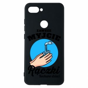 Xiaomi Mi8 Lite Case Wash their hands