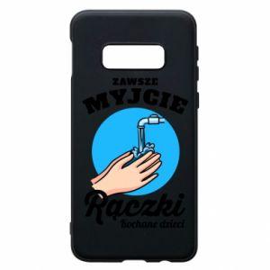 Samsung S10e Case Wash their hands