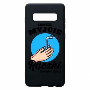 Samsung S10+ Case Wash their hands