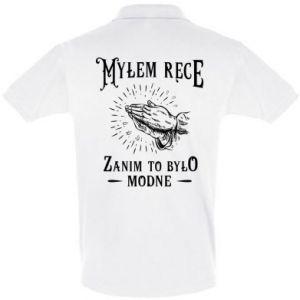 Koszulka Polo Mylem rece zanim to bylo modne