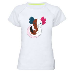 Koszulka sportowa damska Mysterious animal