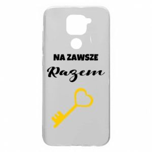 Xiaomi Redmi Note 9 / Redmi 10X case % print% Together forever, for Him