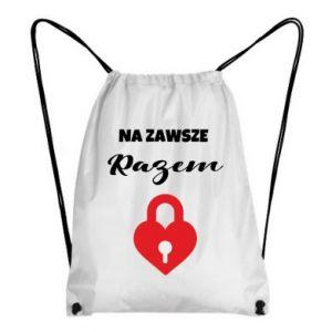 Plecak-worek Na zawsze razem, dla Niej