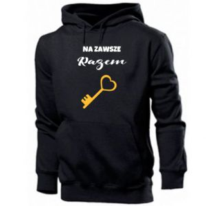 Men's hoodie Together forever, for Him