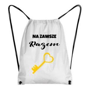 Plecak-worek Na zawsze razem, dla  Niego