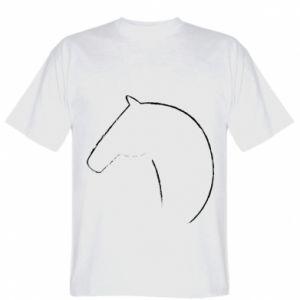 Koszulka Nadruk - koń