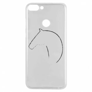 Phone case for Huawei P Smart Print - horse