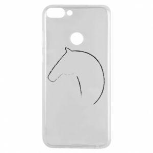 Etui na Huawei P Smart Nadruk - koń
