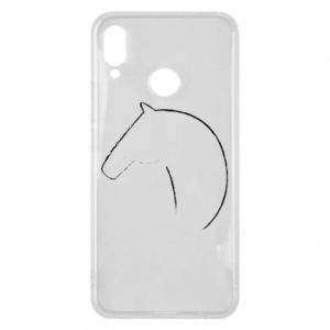 Etui na Huawei P Smart Plus Nadruk - koń