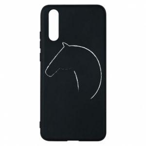 Etui na Huawei P20 Nadruk - koń