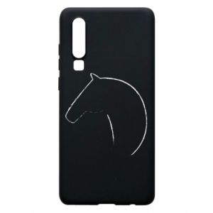 Phone case for Huawei P30 Print - horse