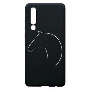 Etui na Huawei P30 Nadruk - koń