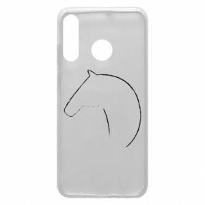 Etui na Huawei P30 Lite Nadruk - koń