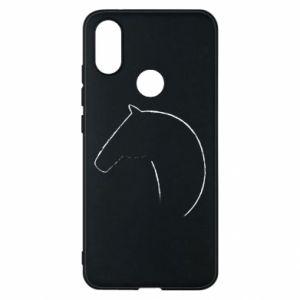 Etui na Xiaomi Mi A2 Nadruk - koń