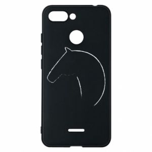 Etui na Xiaomi Redmi 6 Nadruk - koń