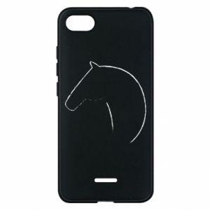 Etui na Xiaomi Redmi 6A Nadruk - koń