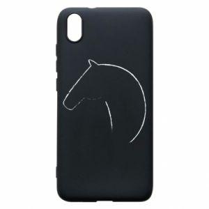 Etui na Xiaomi Redmi 7A Nadruk - koń