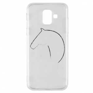 Phone case for Samsung A6 2018 Print - horse