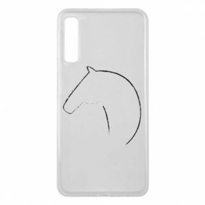 Phone case for Samsung A7 2018 Print - horse