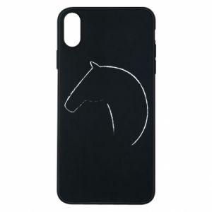 Etui na iPhone Xs Max Nadruk - koń